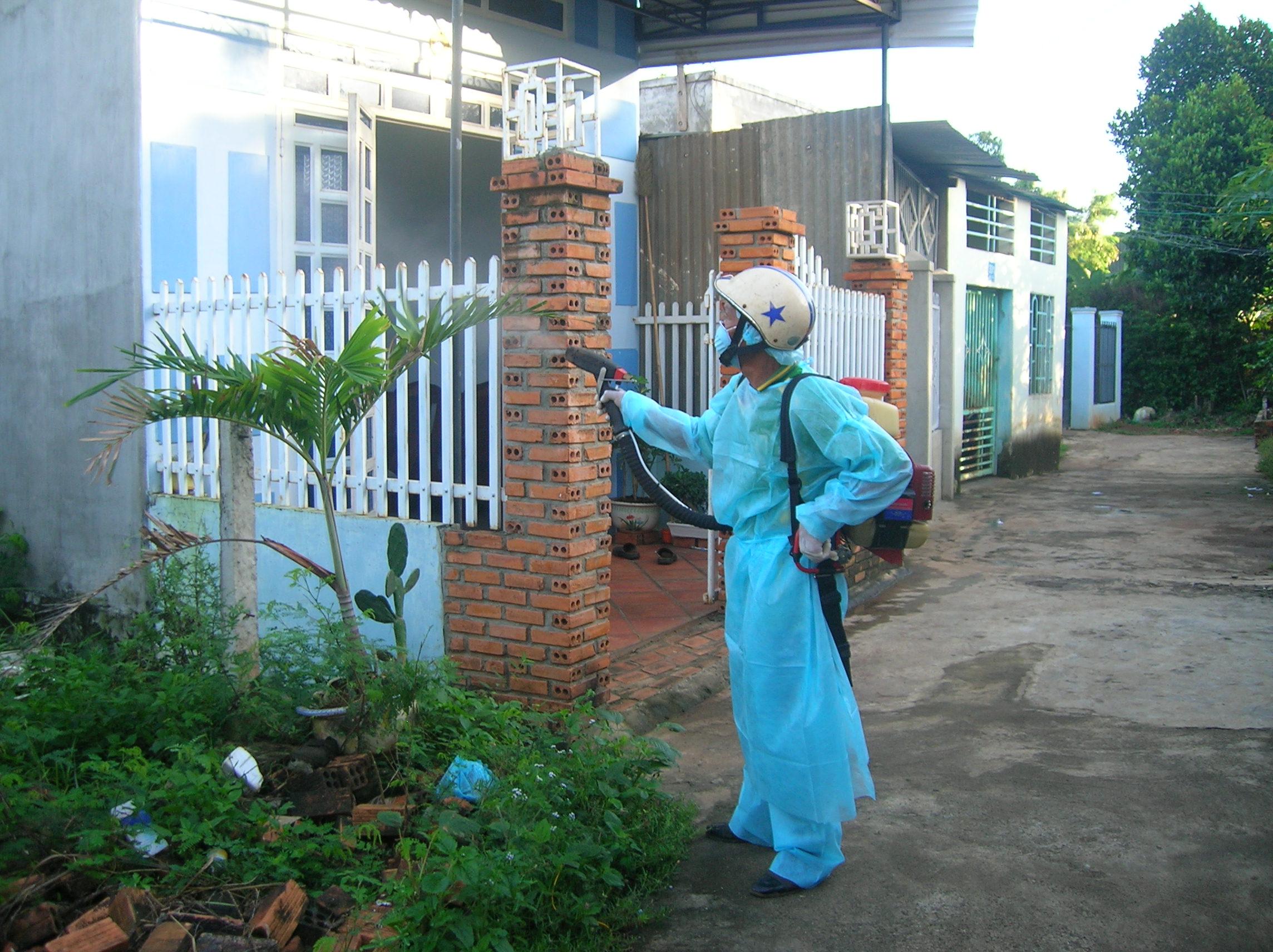 Dịch vụ phun muỗi hiệu quả, không độc hại quận Thanh Xuân